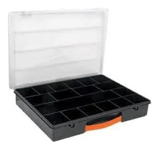 Caja Plastica Organizador Truper Con 18 Compartimentos