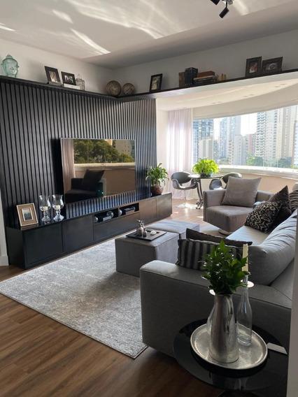 Vende-se Apartamento Brooklin - Reformado E Mobiliado