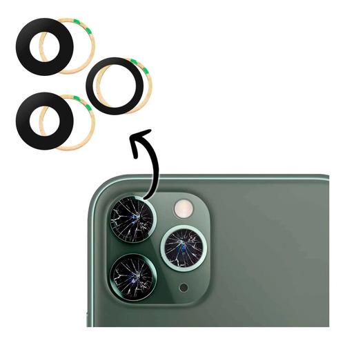 Imagem 1 de 7 de Kit 3 Lente Vidro Camera Traseira iPhone 12 Pro Max Original