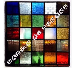 Vidrios Ideal Para Vitreaux De Colores 10x10 A Medida
