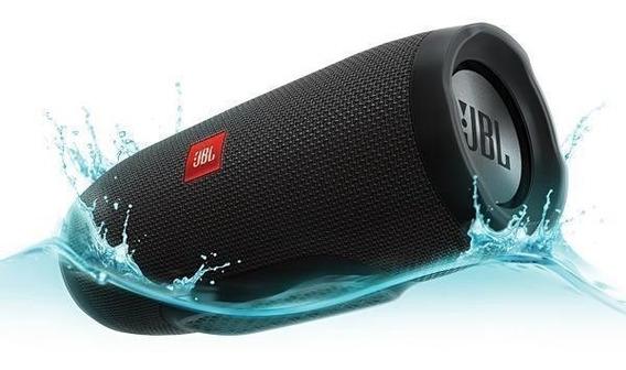 Speaker Jbl Charge 3 Bluetooth Ipx7 Bivolt 2 X 10w Rms -pret