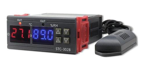Controlador Termostato Humedad Temperatura 110-220v Stc3028