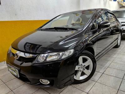 Honda Civic Lxs 1.8 Flex Automático Completo Financia/troca