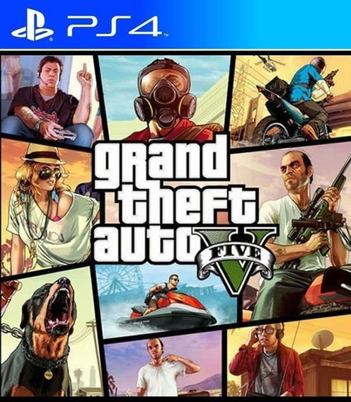 Gta V 5 Ps4 - Grand Theft Auto V 5 Ps4 Digital Original 1