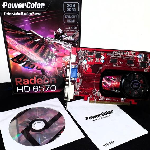 Placa De Vídeo Radeon Hd 6570 2gb Ddr3