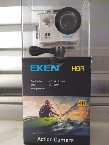 Camera Eken H9r 4k + Pulseira Aprova Dagua + Bateria Extra