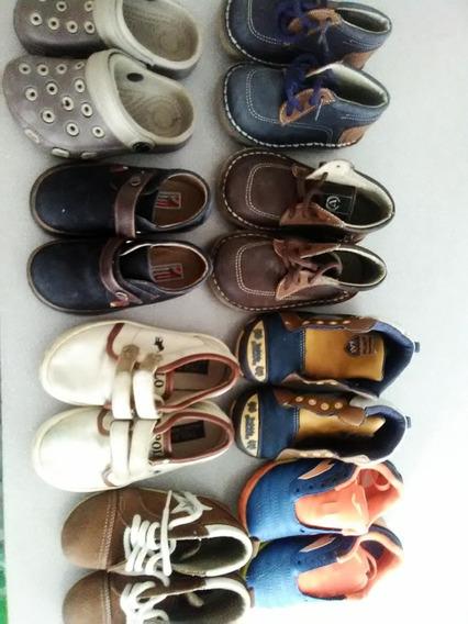 Lote Zapatos Usados Buenas Condiciones, Niños Hasta 3.5 Años