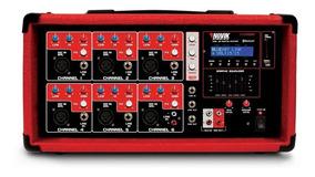 Amplificador Novik Nvk 6400 Bluetooth Com Nota Fiscal