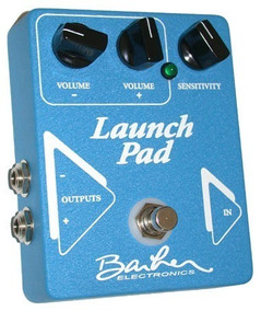 Pedal Barber Launch Pad