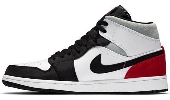 air jordan 1 rojo y negro