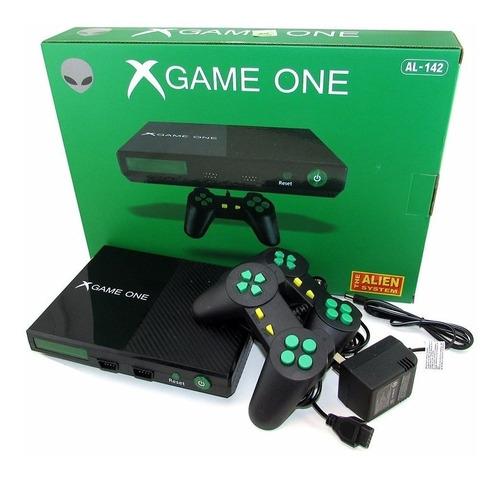 Consola Alien X-game One Juegos Retro Regalo Diseño