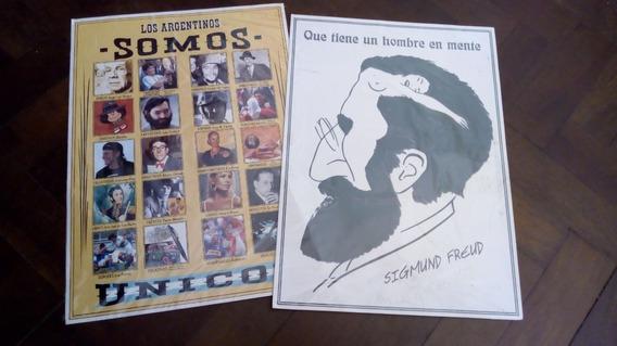 Poster Ser Argentino Y ¿qué Tienen Los Hombres En...