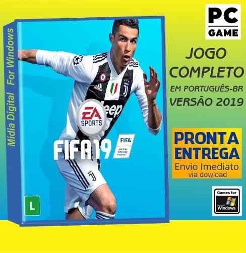 Fifa 19 + Update - Pc - Português-br - Envio Digital