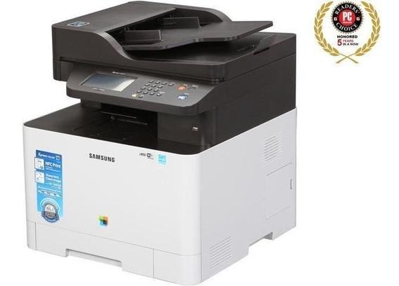 Impressora Multifuncional Samsung C1860f Sl-c1860fw Seminova