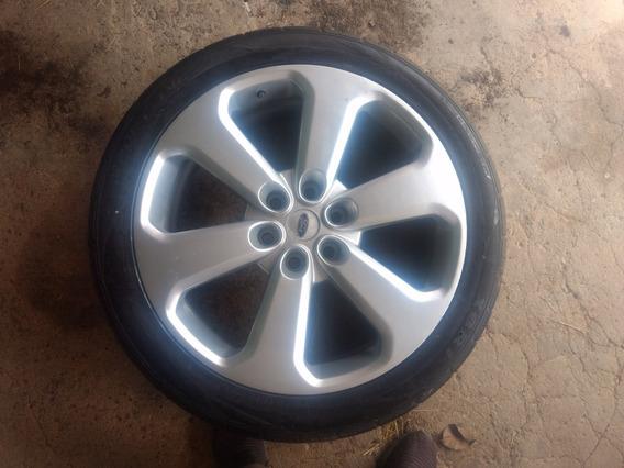 Rodas Aro 22 C/pneus + 1 Pneu Novo6 Furos, Tamanho 285/40r22