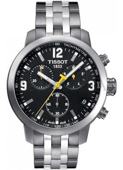 Relógio Tissot Novo Prc 200 T055.417.11.057.00 Preto Aço