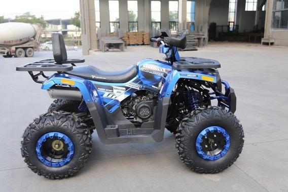 Cuatrimotos Brave 200cc Pantalla Digit Automaticas Luces Led