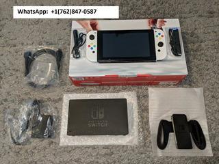 New Custom White Nintendo Switch Console & Joycons
