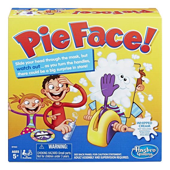 Juego De Mesa Hasbro Pie Face +5 Años