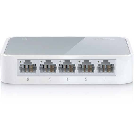 Switch 5 Puertos Tp-link Tl-sf1005d 10/100 1005d Mbps Hi End
