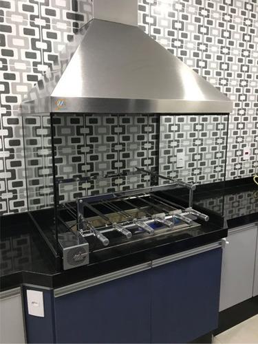 Kit Churrasqueira Gourmet Makeer Personalizado Inox 304