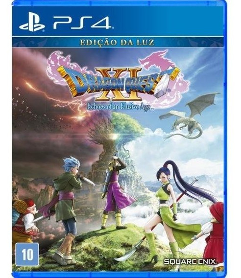 Dragon Quest Xi Echoes Edição Da Luz (novo) Mídia Física