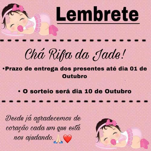 Imagem 1 de 4 de Convite Aniversário, Chá Rifa, Chá De Casa Nova, Casamento