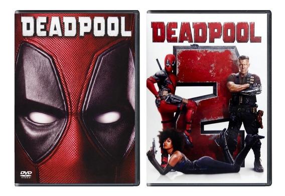 Deadpool 1 Y 2 Ryan Reynolds Paquete Peliculas Dvd