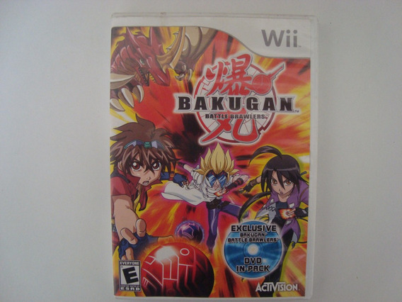 Bakugan Battle Brawlers Americano Para Nintendo Wii