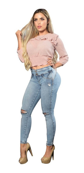 Jeans Talla 30 Levanta Pompa - Push Up - Colombiano Pantalon