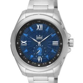 Relógio Dumont Masculino Prateado Du1l45ae/3a Original + Nf