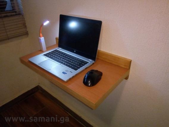 Escritorio Flotante Tipo Repisa Optimizado Laptop