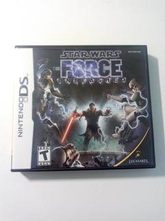 Star Wars The Force Unleashed Nintendo Ds Original