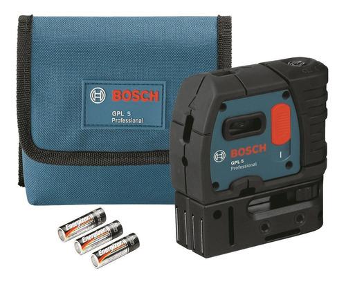 Imagem 1 de 10 de Nível A Laser Auto Nivelador 5 Pontos 30 Metros Gpl 5 Bosch
