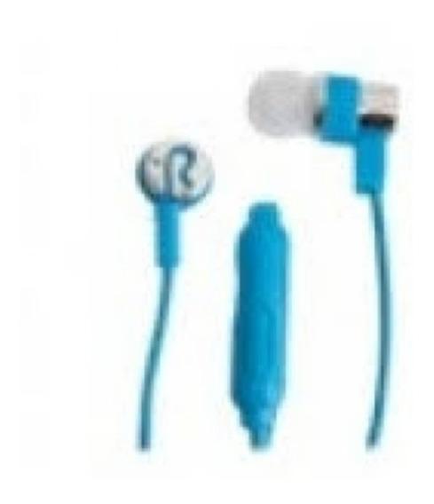 Fone De Ouvido - Marca X-cell. Mod. Xc- F-01 Azul - Ds Tools