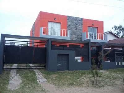 Villa Gesell Duplex Verano 2018 6pax ,solo Para Familia