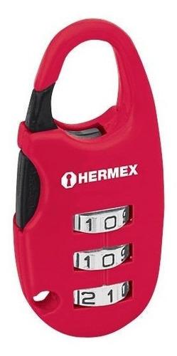 Candado Combinacion Para Maleta 25mm  Hermex Cod: 3510690