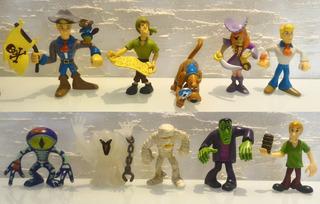 Scooby Doo Monstro Do Pântano Frankenstein Múmia Fantasma