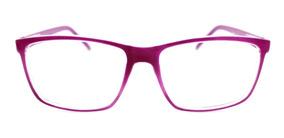 Armação Óculos Quadrada Acompanha As Lente Sem Grau Fy101