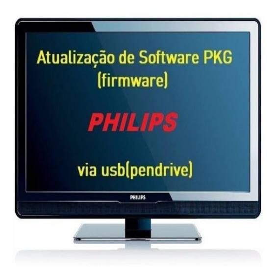 Atualização De Software Pkg Para Tv Philips 32pfl5007g/78