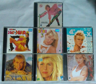 Xou Da Xuxa 1 2 3 4 5 6 E 7 - Coleção 7 Cds