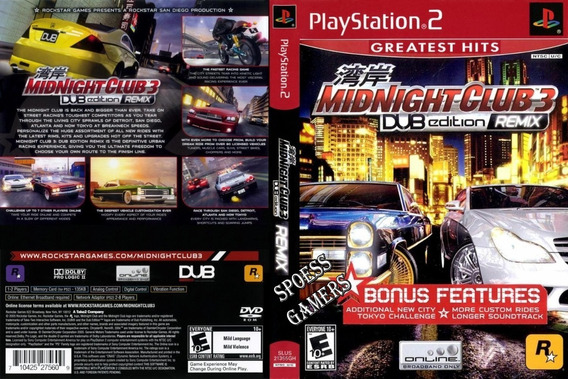 Midnight Club 3 Ps2 Dub Edition Remix Carros Patch