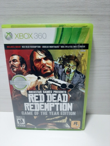 Jogo Read Dead Redemption Game Of The Year Edition