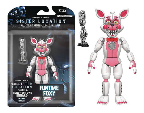 Funko Five Nights At Freddy Funtime Foxy Articulado Figure