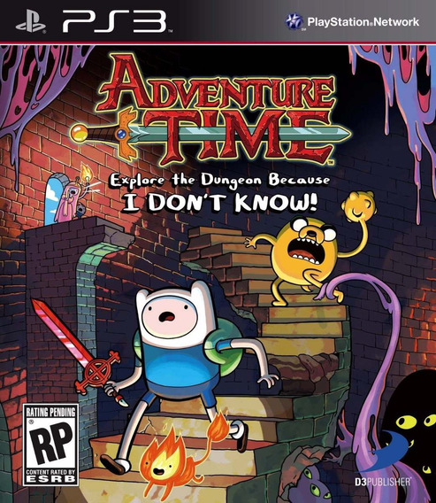 Adventure Time Explore Dungeon Because Know Mídia Física Ps3