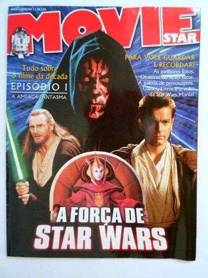 Revista Movie Star 01 Star Wars Episódio 1