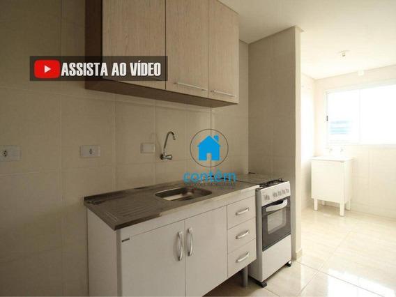 Ap1704 - Apartamento Com 1 Dormitório Para Alugar, 28 M² Por R$ 1.100/mês - Km 18 - Osasco/sp - Ap1704
