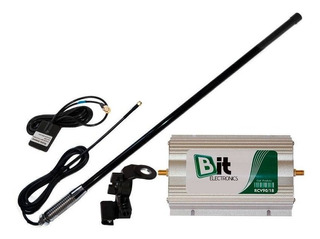 Kit Repetidor Celular Veicular 900/1800 Mhz Com Suporte