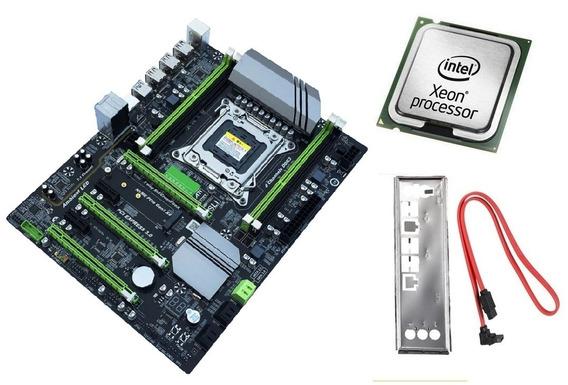 Kit Placa Mãe Lga 2011 X79 Ddr3 Até 64gb + Processador Xeon