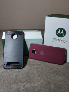Celular Moto Z Play+capinha+pelicula